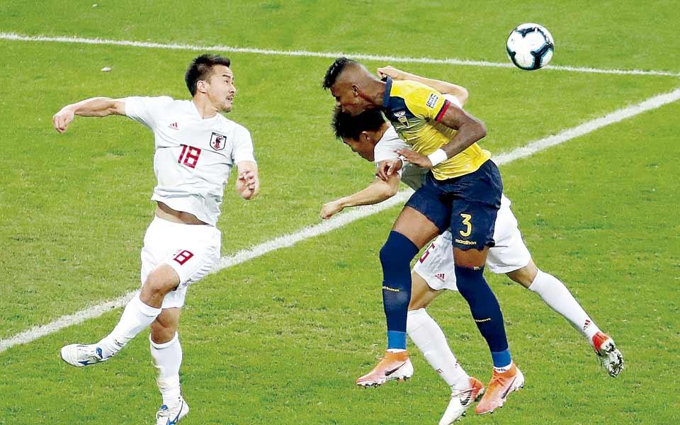 Empate entre Ecuador y Japón dio el tiquete a los paraguayos