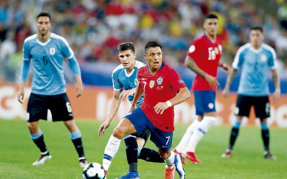 Chile será el rival de Colombia en cuartos de final de Copa América