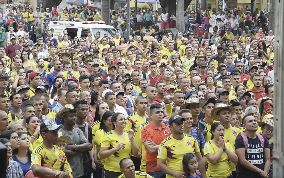 Así vivió Pereira el triunfo de la Tricolor