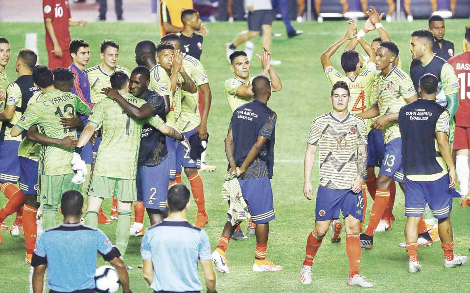 Cinco claves de la clasificación colombiana como primeros del grupo