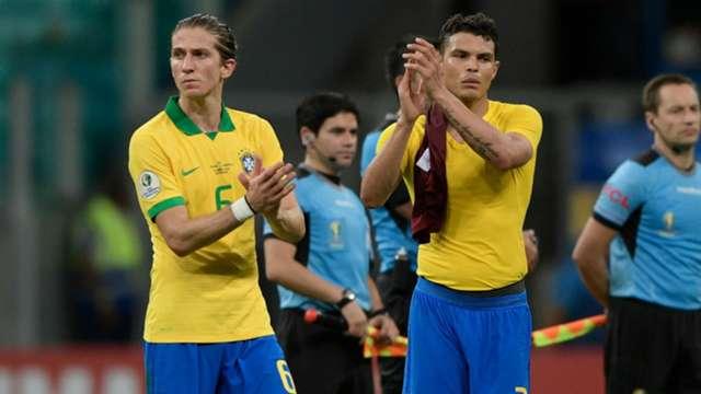 Brasil golea en el primer tiempo y Perú teme por su clasificación y Venezuela vence a Bolivia por 0-1 al descanso y pone un pie en los cuartos
