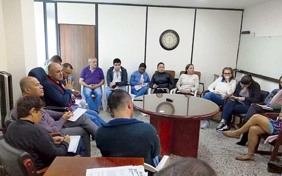 En Belén también adelantan el proceso de empalme - El Diario de Otún