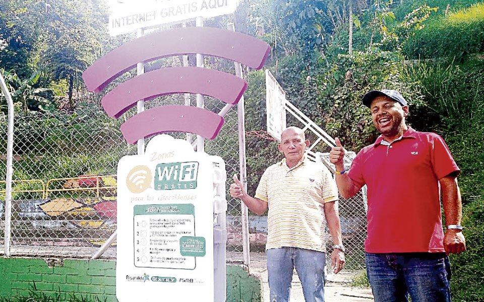 En servicio, zona gratis de Wi Fi para el barrio Restrepo - El Diario de Otún