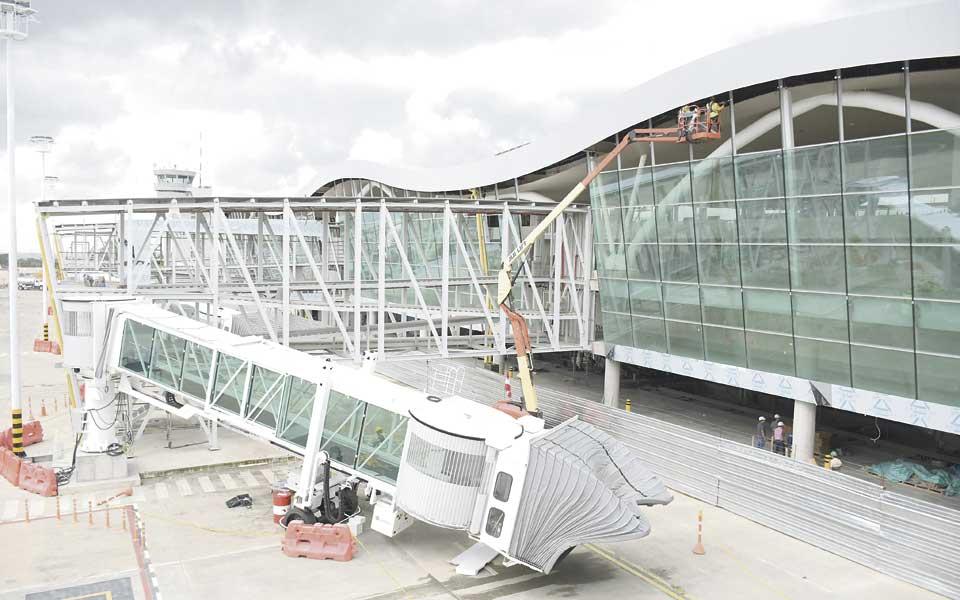 Toman 'altura' las obras del Aeropuerto Matecaña - El Diario
