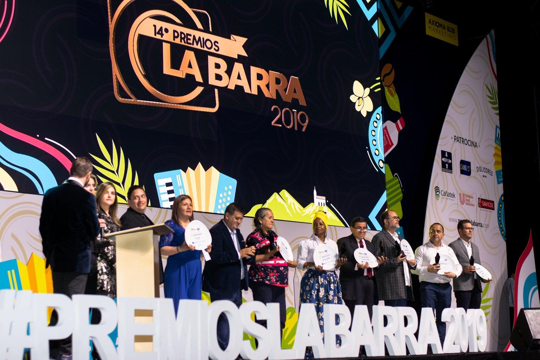 Eje Cafetero nominado en premios La Barra 2020