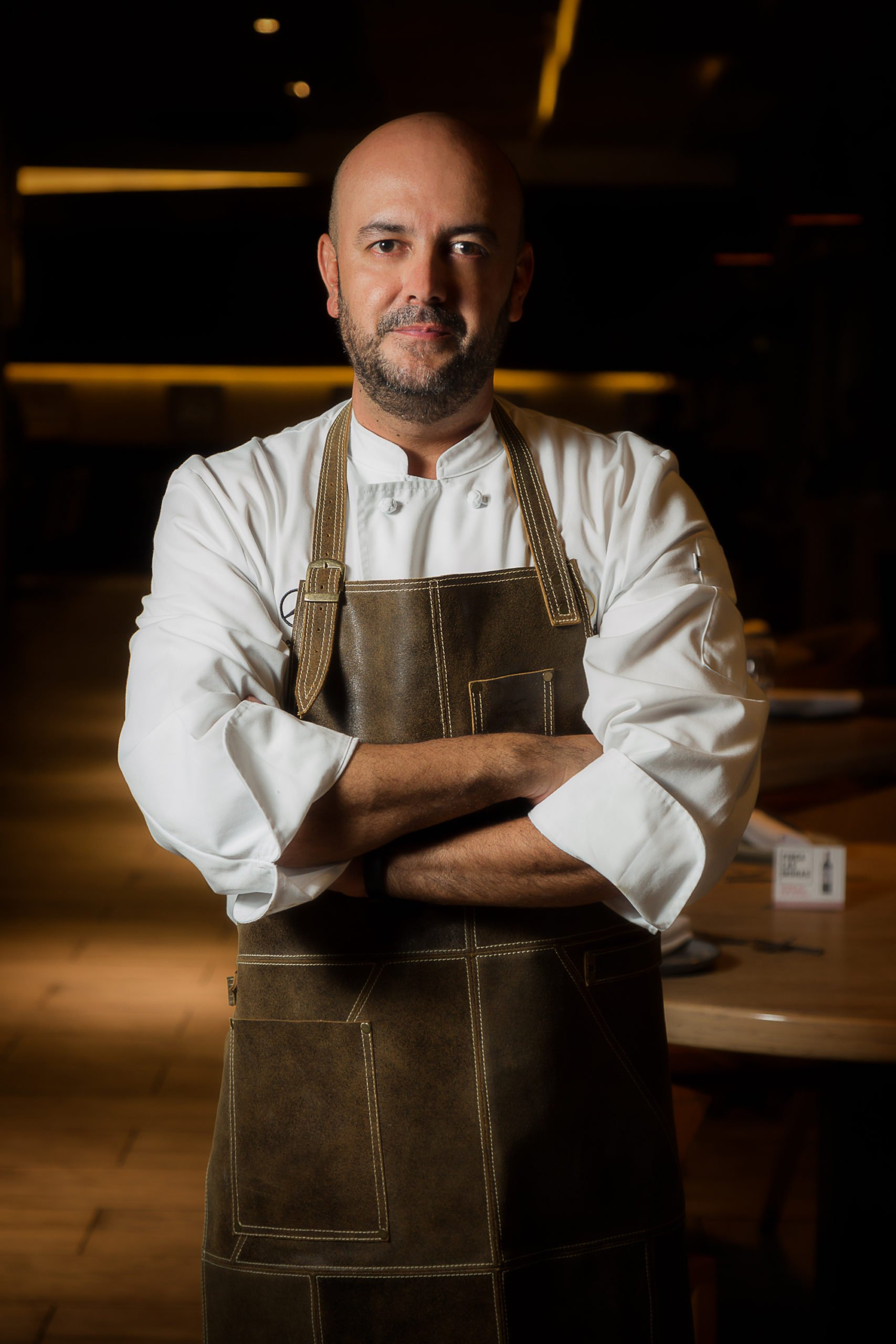 ¿Sin saber que cocinarle a mamá? Diego Panesso sugiere Unión Festival Ceviche tibio de trucha, piña, y chorizo santarrosano