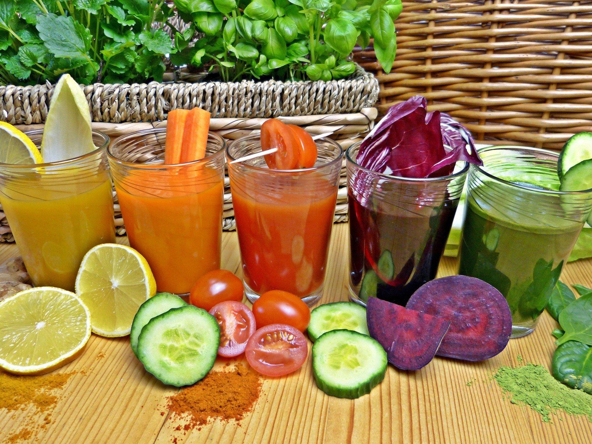 ¿Consumir batidos de frutas y verduras en tiempos de Covid?