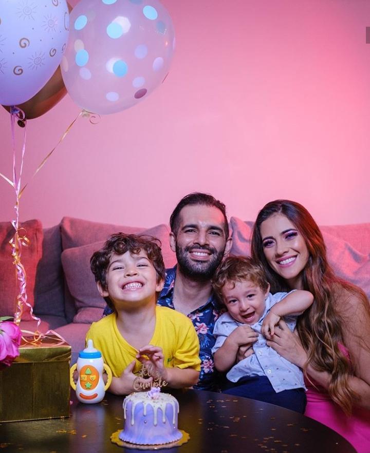 Festejaron sus cumpleaños en familia / Daniela Castillo Villada