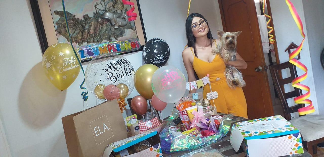 Festejaron su cumpleaños / Erika García Quiceno