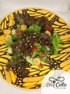 Cocinar para papá en su día especial / Carlos David Morales Macía / chef Cala