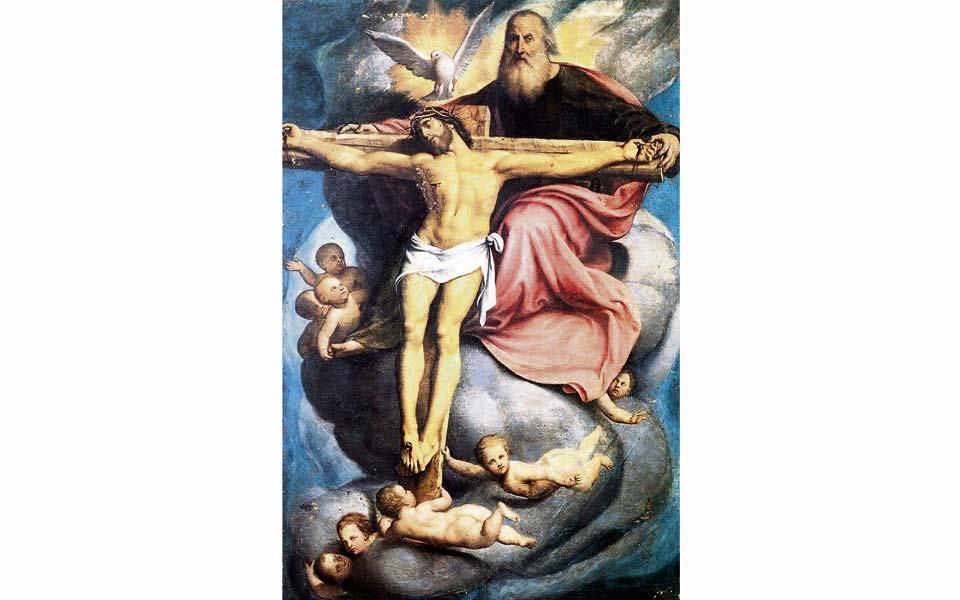 Lectura Del Santo Evangelio Segun San Juan 3 16 18 La Santisima Trinidad El Diario