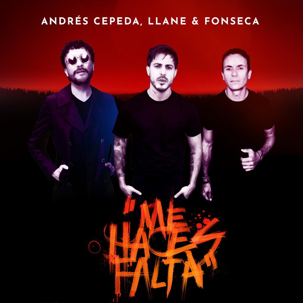 Fonseca y Andrés Cepeda presentaron su nueva canción junto a Llane
