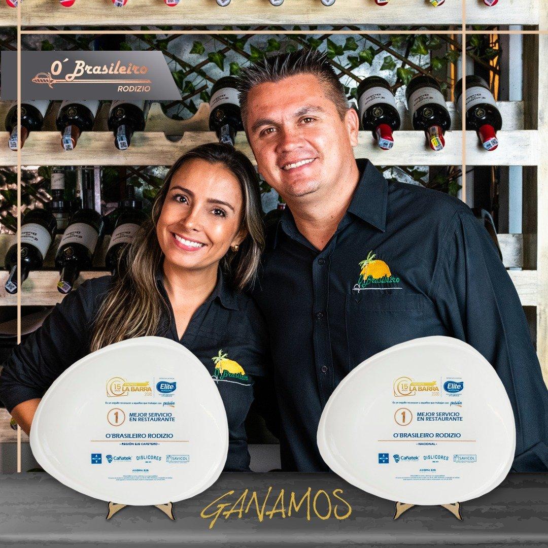 O´Brasileiro Rodizio ejemplo de servicio en la región cafetera