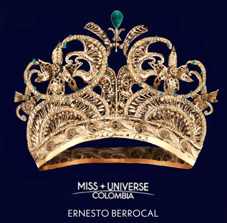 Conozca los 8 diseños finalistas de la corona Miss Universe Colombia