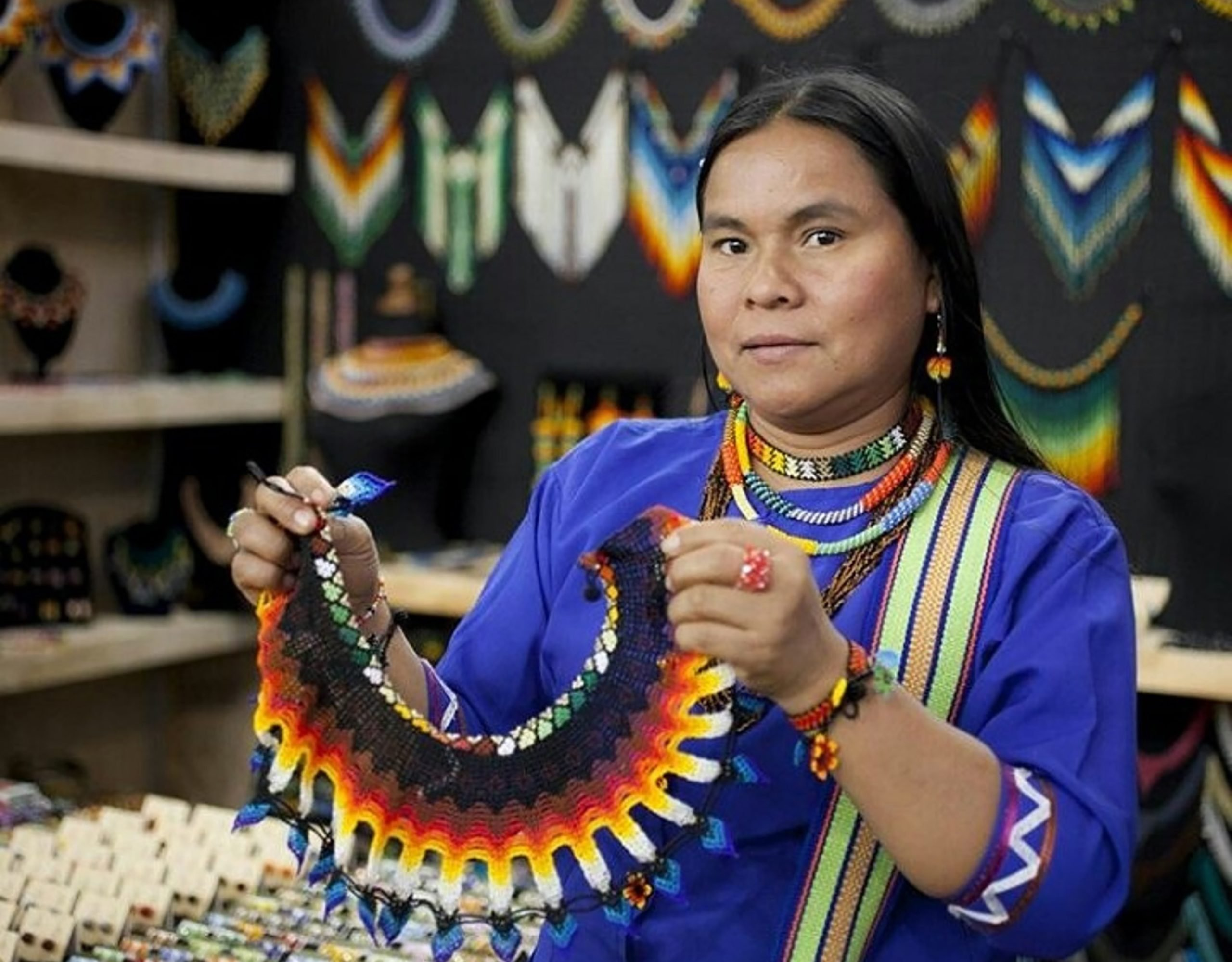 Homenaje al ser, tradición artesanal y costumbres Embera Chamí