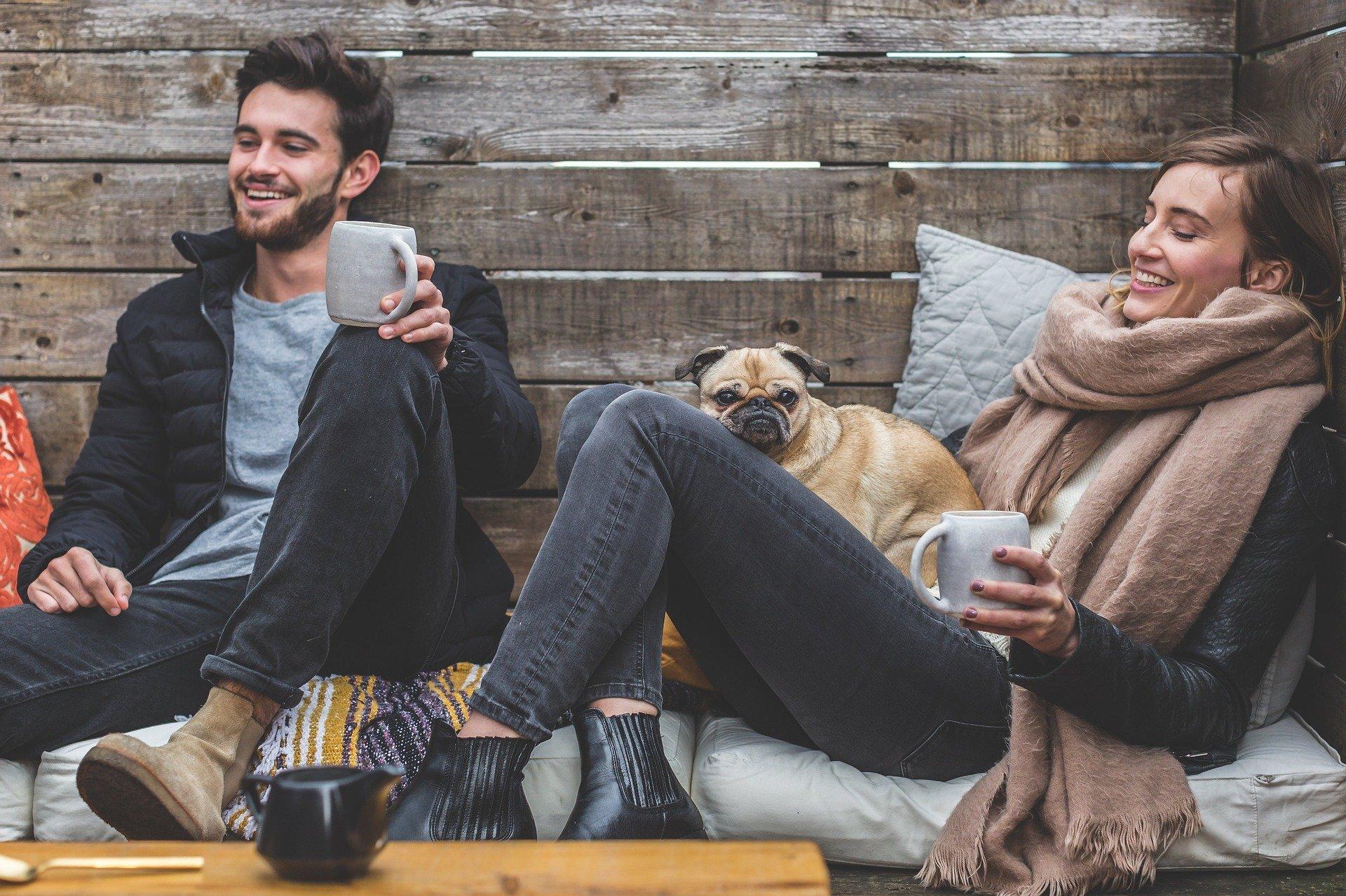 Moda y estilo a la hora de tomar café