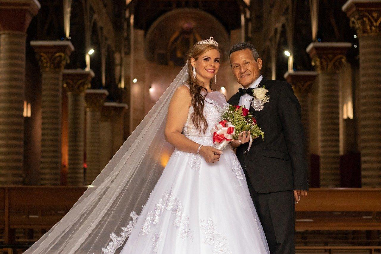 Ivonne Adiela Correa y Alfonso Aníbal Hernández, unieron sus vidas