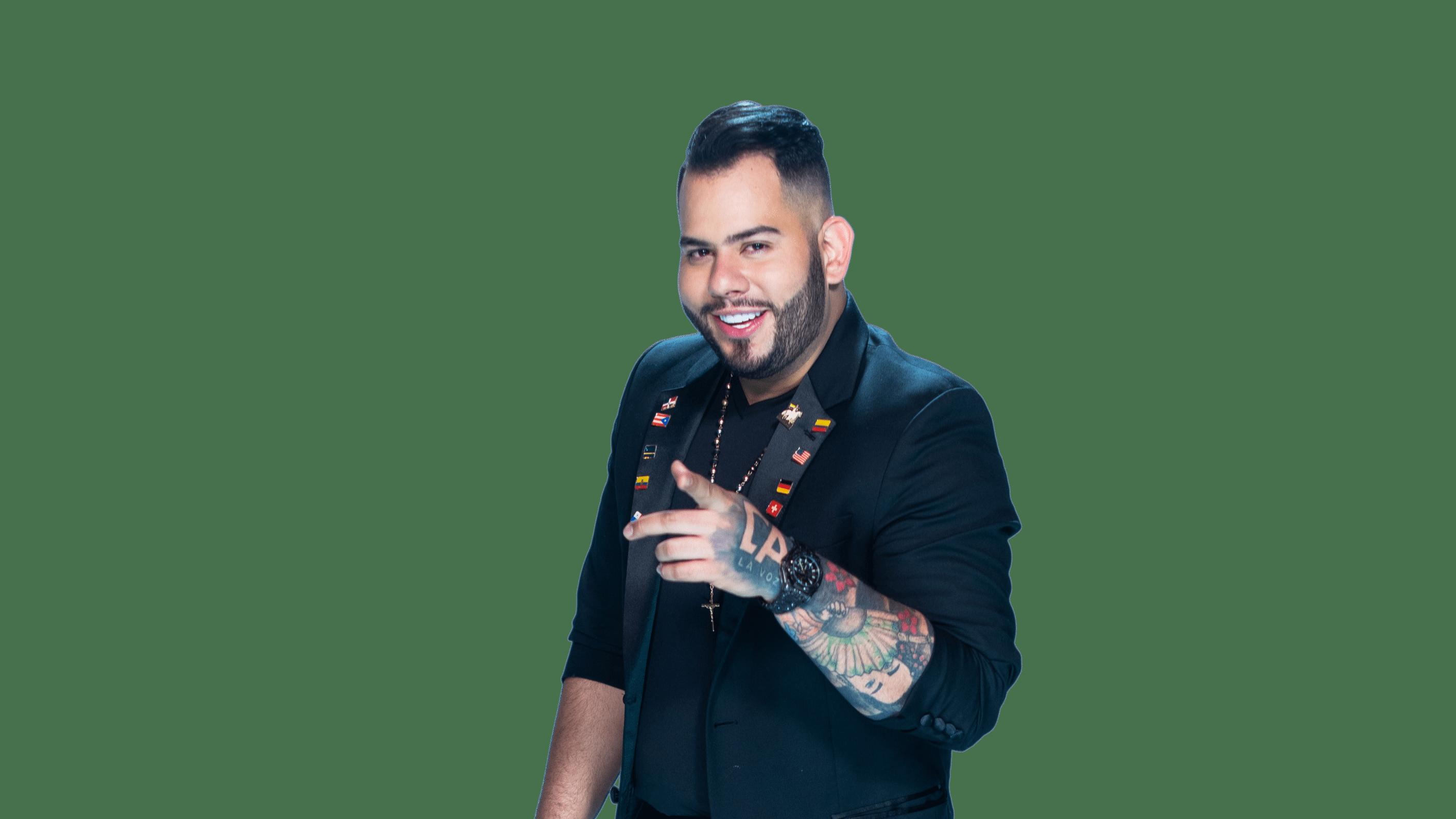 Diego A La Vozse convirtió en el artista revelación