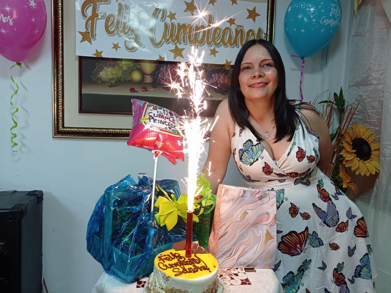 Celebraron sus cumpleaños / Sandra Milena Gaviria Betancourt