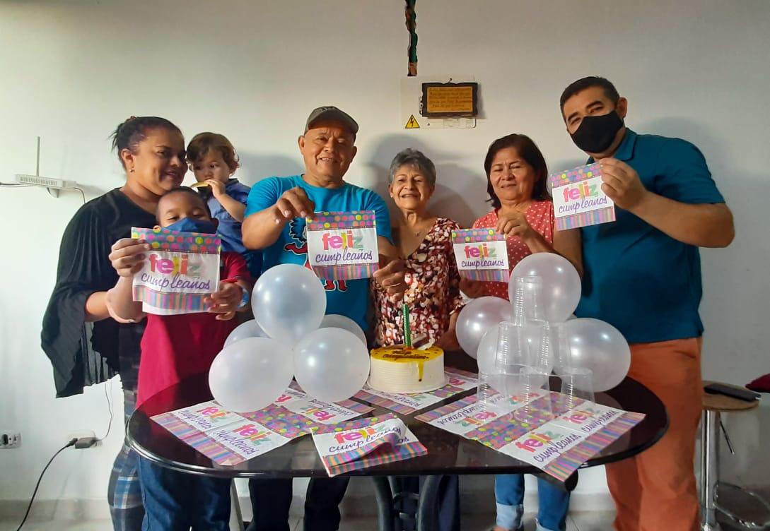 Celebraron sus cumpleaños / Trinidad Soto
