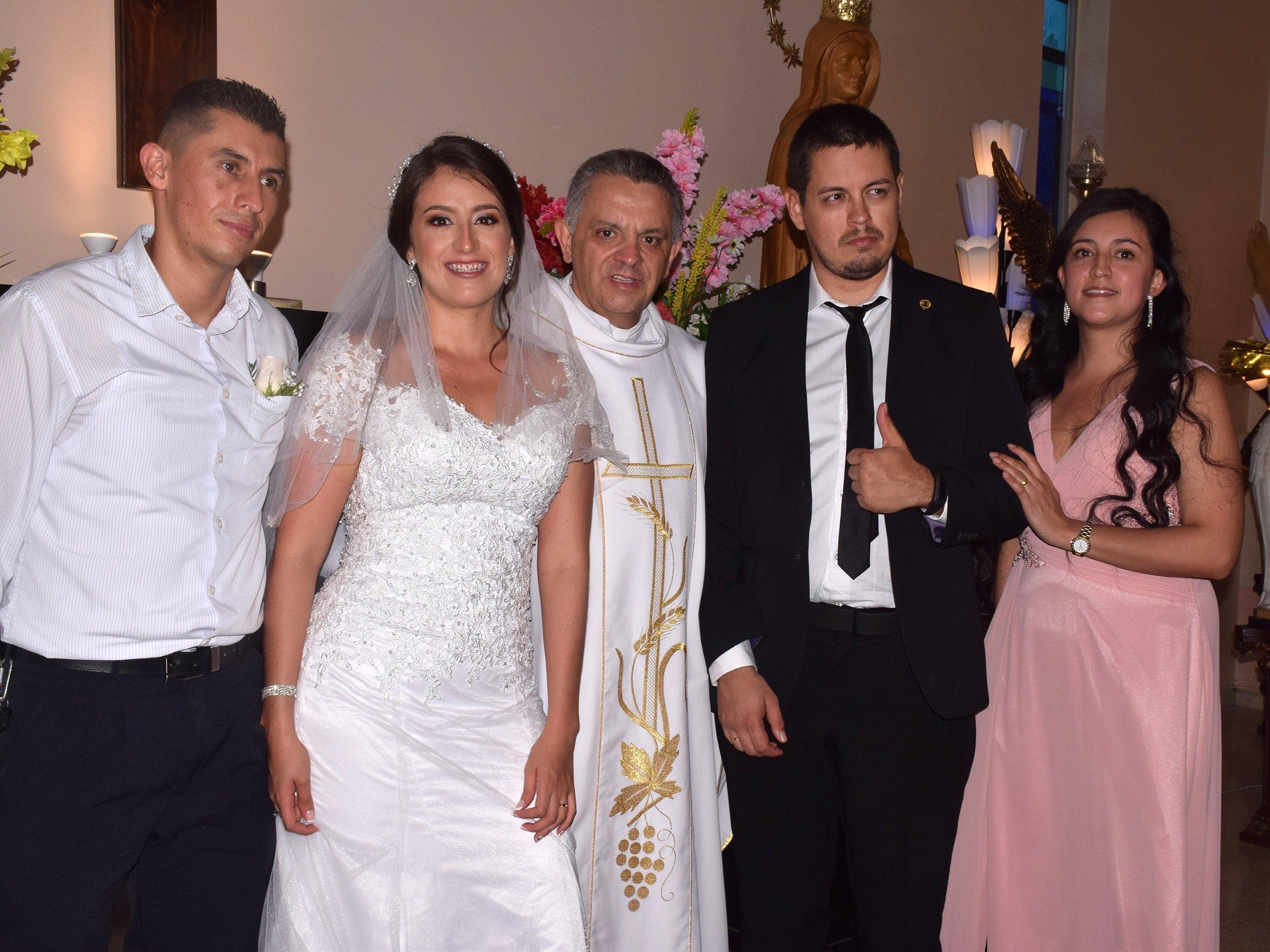 Matrimonio de María Jennifer Blanco y Michael Cavarrubias
