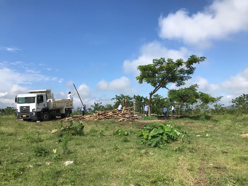 Se hizo limpieza del predio donde se construirá el Hospital de Cuarto Nivel  - El Diario