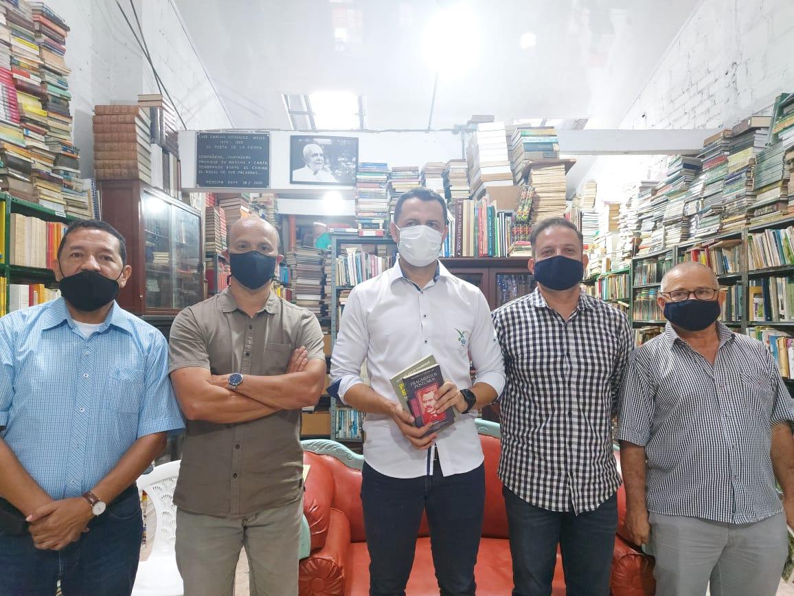 Conversatorio de ciudad librería Roma