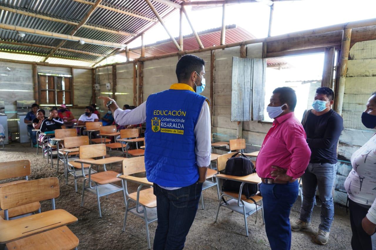 Resguardo indígena de Marsella, estrenará aulas escolares antes de finalizar este año