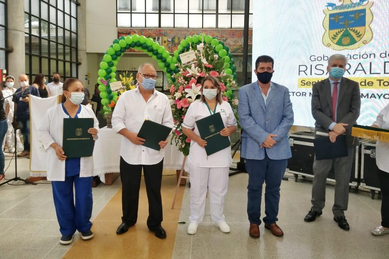 Conmemoración aniversario Hospital San Jorge