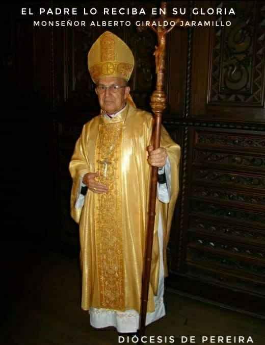 Fallecimiento de Monseñor Alberto Giraldo Jaramillo