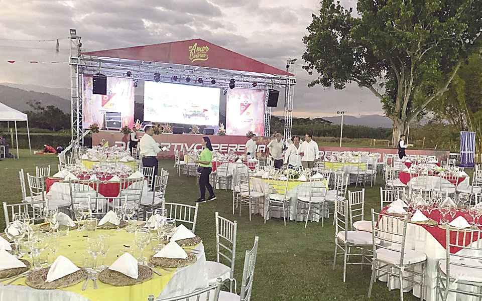Centro de eventos Coconi