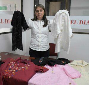 El proyecto es apoyar a las bordadoras del Corregimiento de Puerto Caldas